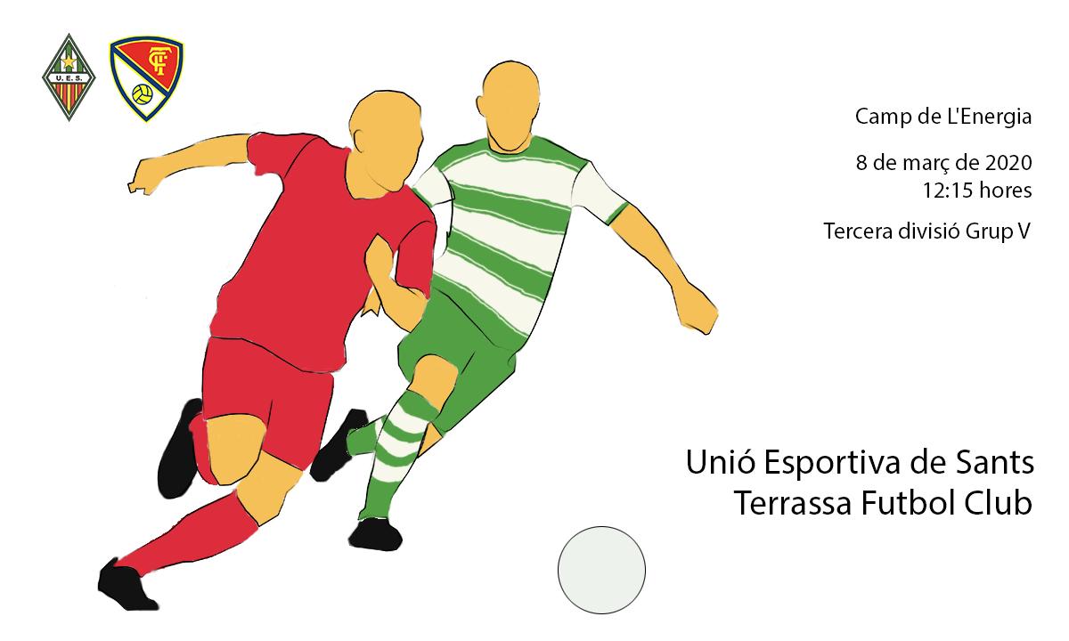 U.E. Sants - Terrassa F.C.